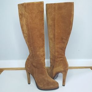 UGG Collection Rafaella knee high heel boots suede